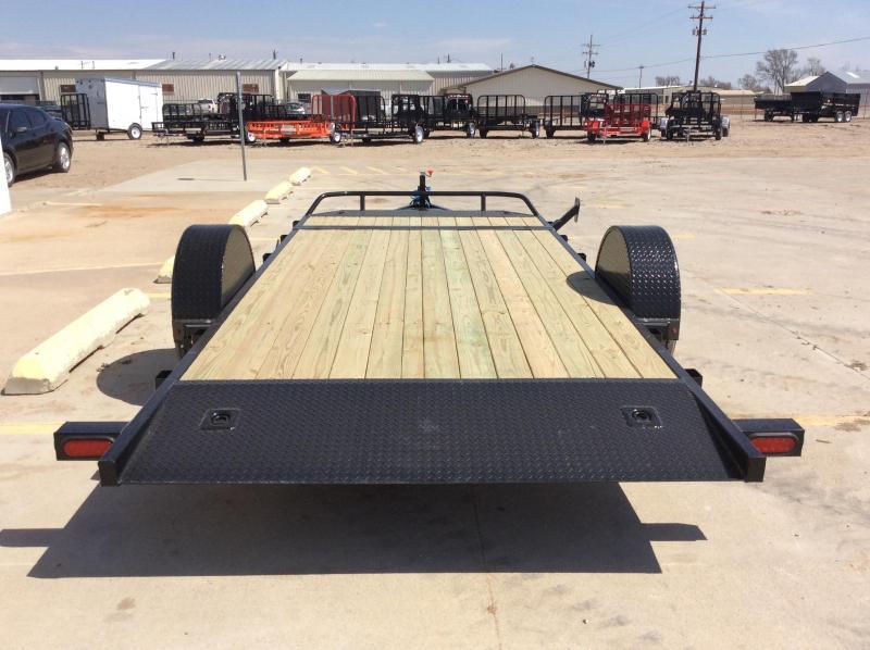"2019 PJ 16' x 83"" Single Axle Hydraulic Tilt Trailer"
