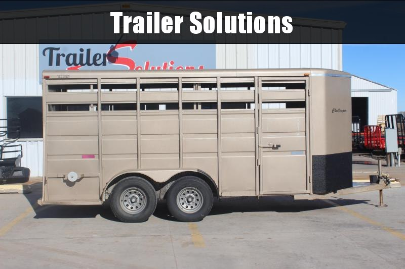 "2004 Titan 6'6"" x 14' Stock Trailer"