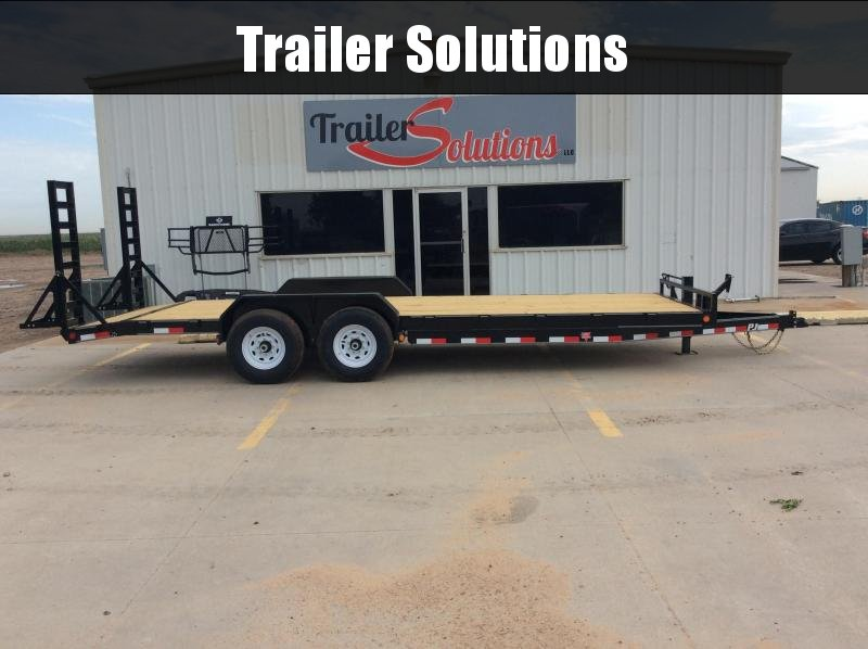 "2020 PJ 22' x 83"" 6"" Channel Equipment Trailer"