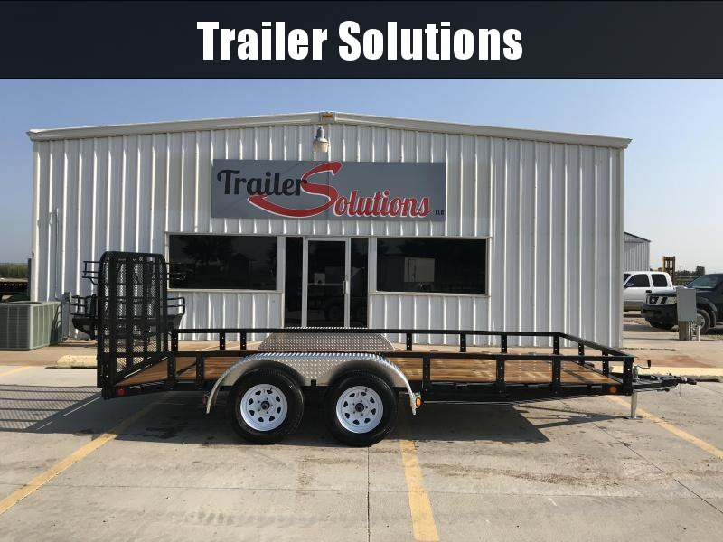 2019 PJ Trailers 16' x 77' Tandem Axle Utility Trailer