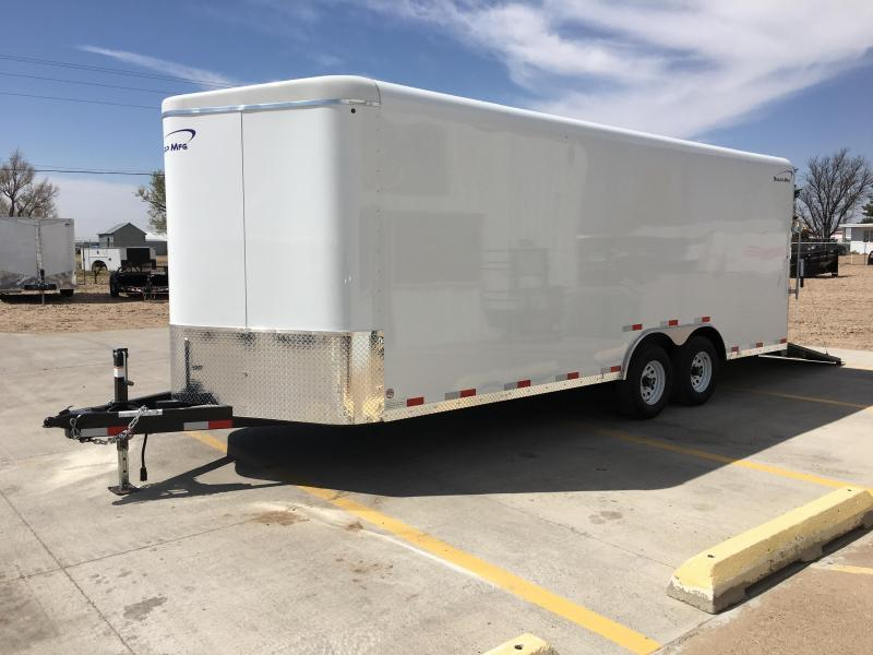 2018 Sharp V-Nose 101 Heavy Duty Cargo Trailer
