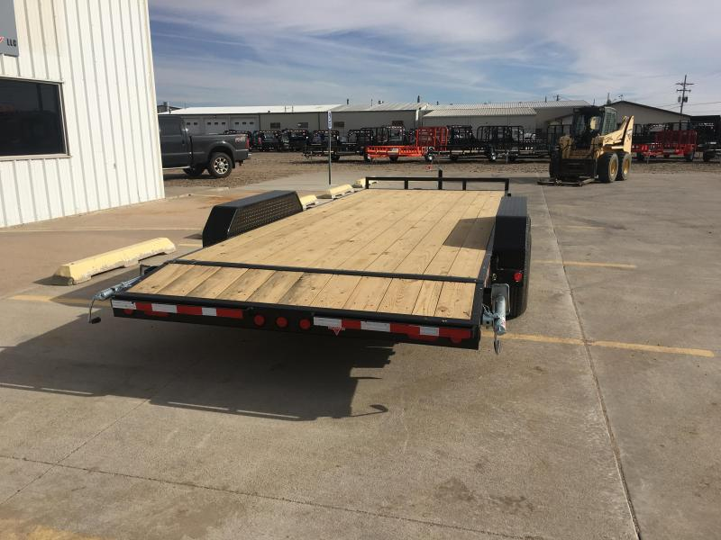 "2019 PJ 20' x 83"" with 5"" Channel Equipment Trailer"