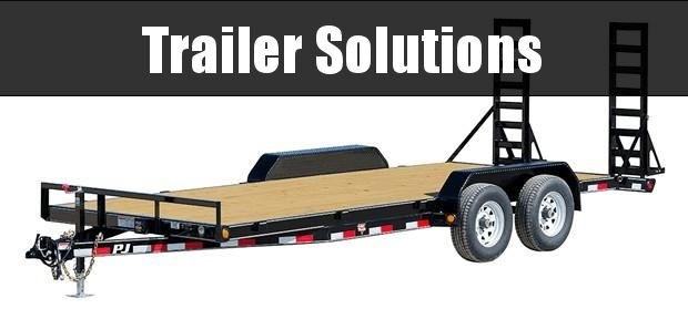 """2019 PJ 20' x 83"""" with 5"""" Channel Equipment Trailer"""