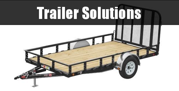 """2020 PJ 12' x 77"""" Single Axle Channel Utility Trailer"""