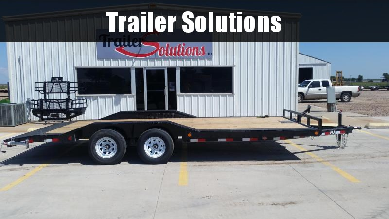 "2019 PJ 20' x 101"" with 5"" Channel Buggy Hauler Trailer"