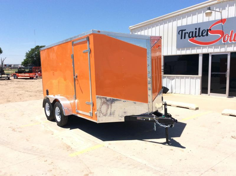 2019 Carry-On 7 x 12 Enclosed Trailer