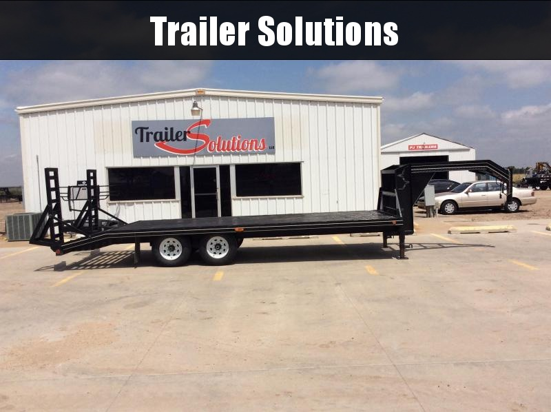 "2005 Used PJ 22' x 96"" Flatdeck Trailer"