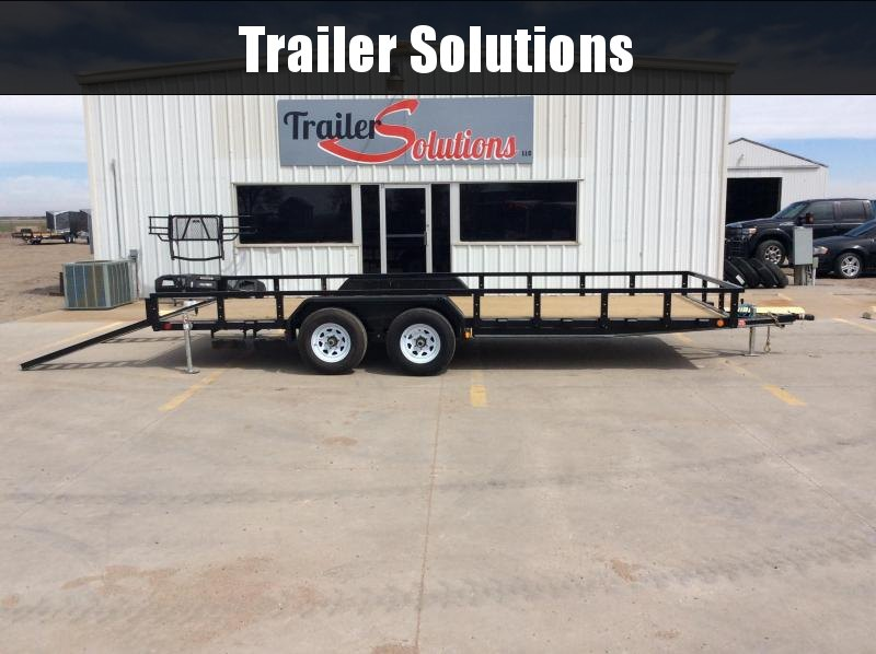 "2020 PJ 20' x 83"" Tandem Axle Channel Utility Trailer"