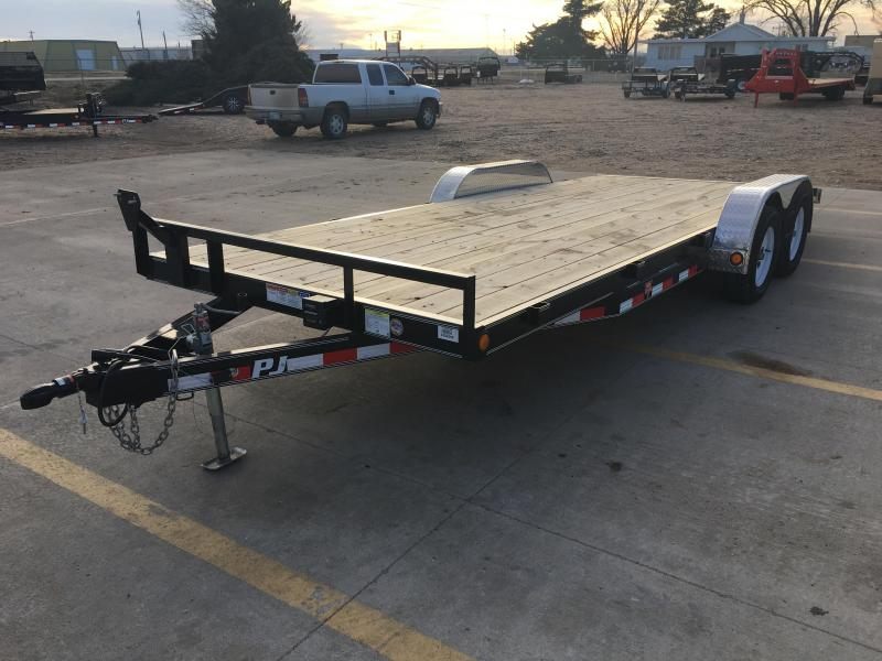 "2019 PJ 20' x 83"" with 5"" Channel Carhauler Trailer"