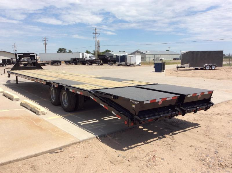 "2020 PJ 40' x 102"" Low Pro Flatdeck with Duals"