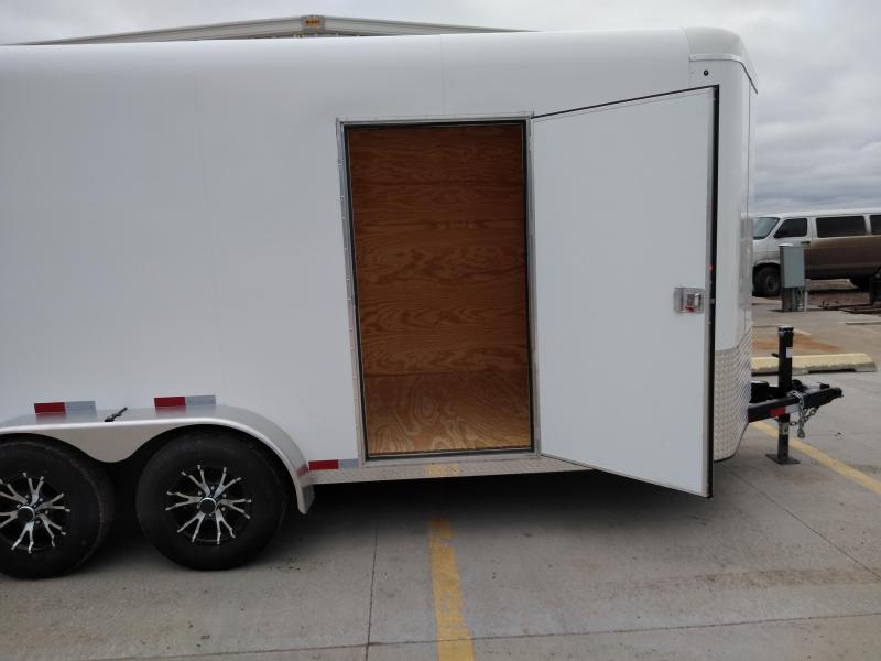 2019 Sharp 7 x 16 Tandem Axle Enclosed Trailer