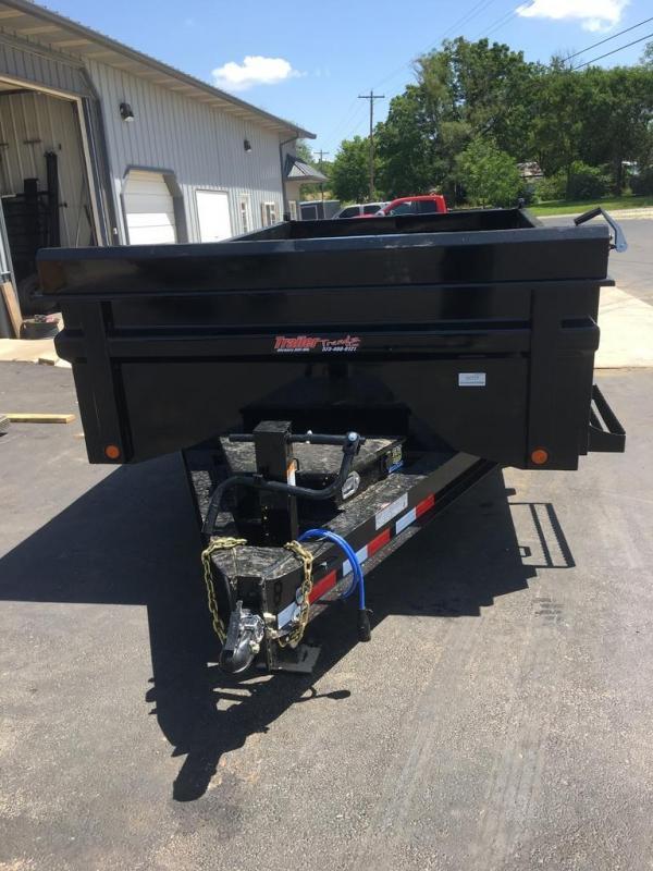 2019 Load Trail LOAD TRAIL 14K GVW 3 WAY GATE SCISSOR HOIST Dump Trailer