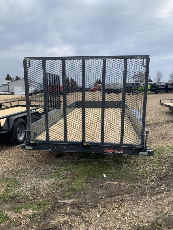 2019 Doolittle Trailer Mfg 84x16 Solid Side Utility Trailer