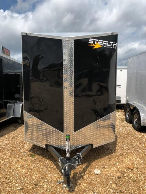 2019 Stealth Trailers 6X12 MUSTANG Enclosed Cargo Trailer