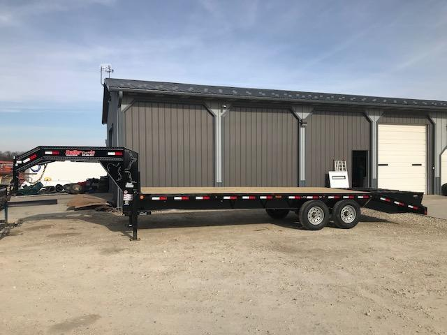 2018 Load Trail 102X25 14K HD GOOSENECK Flatbed Trailer