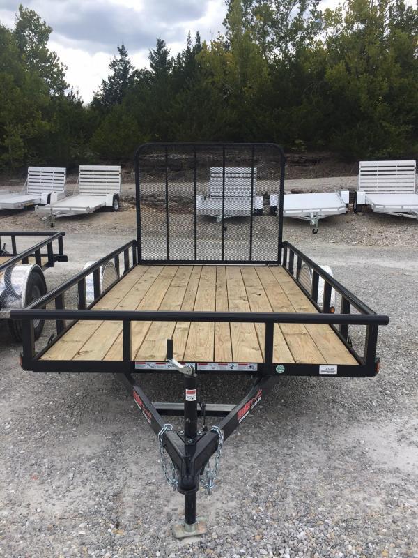 2017 Load Trail SE77X12 Utility Trailer