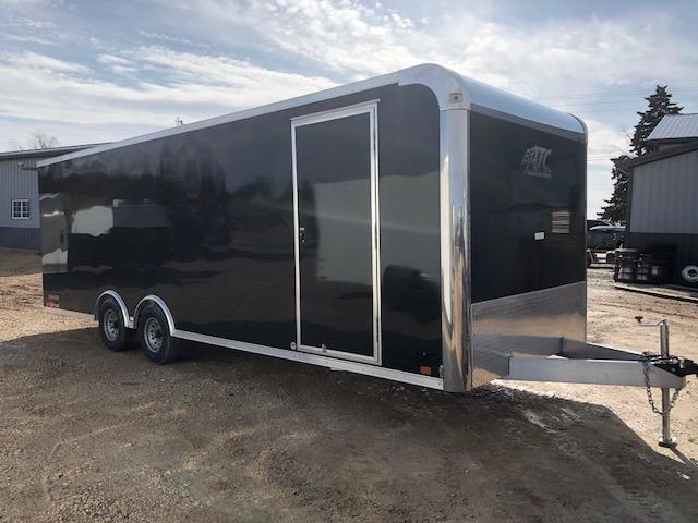 2018 ATC 8.5X24 10K ULTIMATE ESCAPE DOOR Enclosed Cargo Trailer