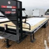 2019 Delta Manufacturing 102X25 Flatbed Trailer