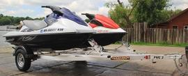 2009 Aluma PWC2 Watercraft Trailer