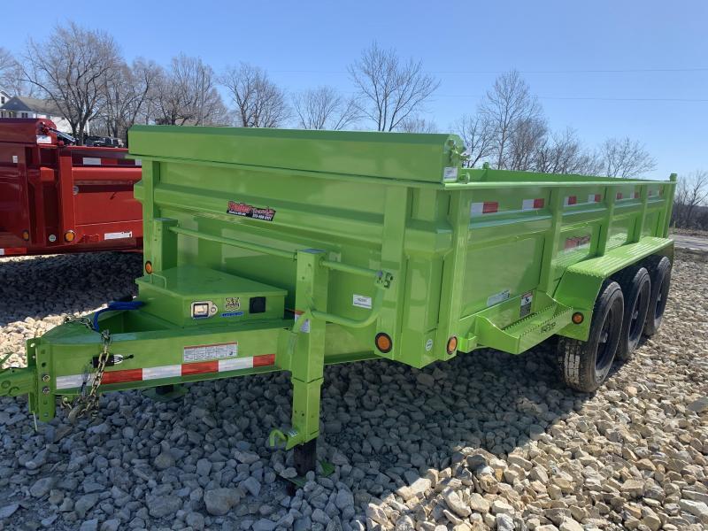 "2019 Load Trail 83"" X 16' Triple Axle Dump Dump Trailer"