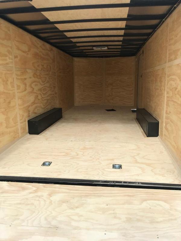 2020 Continental Cargo 8.5X20 CC 7K GVW BEAVERTAIL D-RINGS Enclosed Cargo Trailer