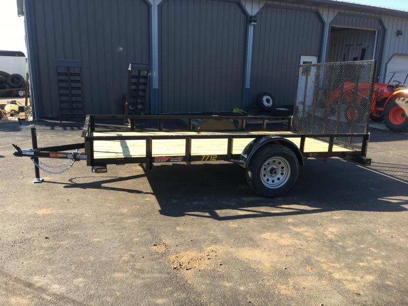 2019 Doolittle Trailer Mfg 77x12 Rally Sport Utility Trailer