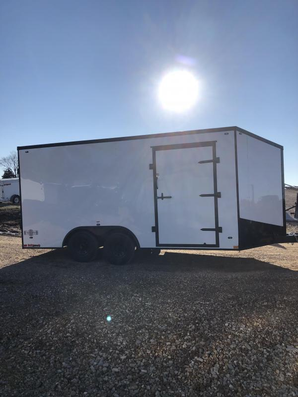 2019 Stealth Trailers 8.5X16 MUSTANG Enclosed Cargo Trailer