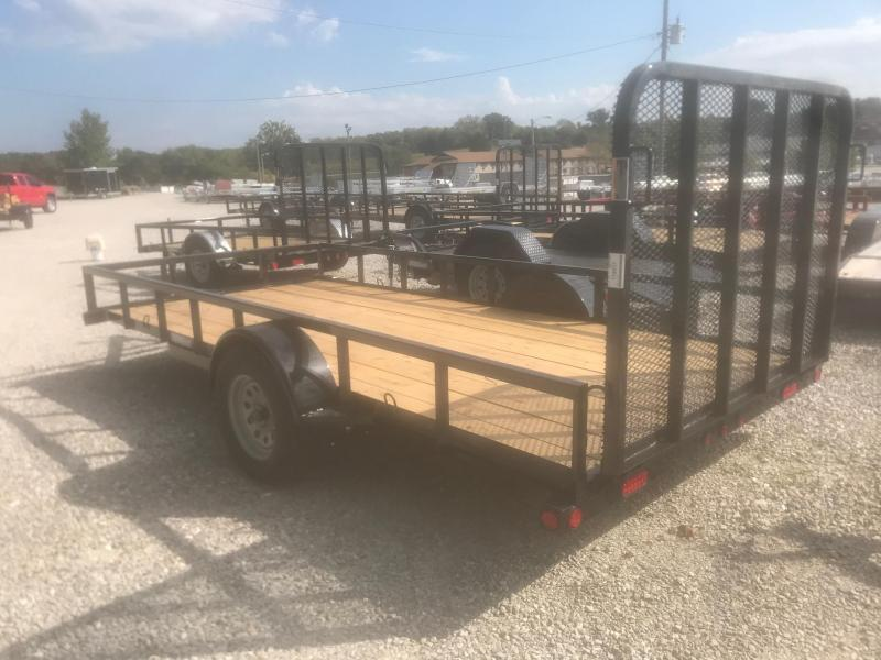2019 Load Trail 77X14 SE SINGLE AXLE Utility Trailer