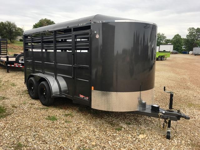 2019 Delta Manufacturing 500 ES 16FT Livestock Trailer