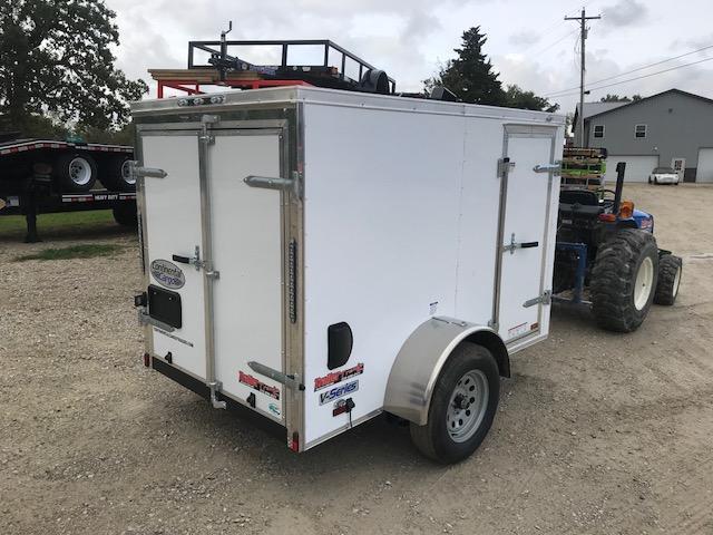2019 Continental Cargo 5x8 Enclosed Cargo Trailer