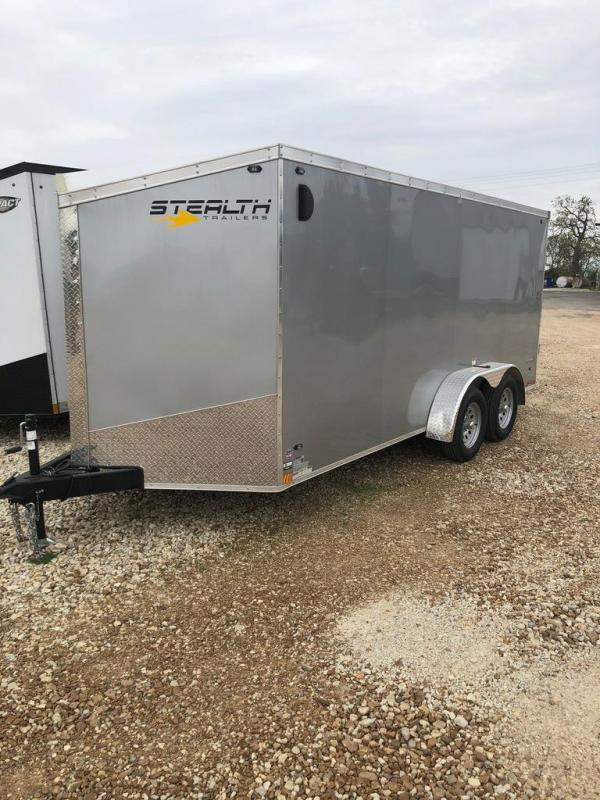 2019 Stealth Trailers 7X16 Enclosed Cargo Trailer