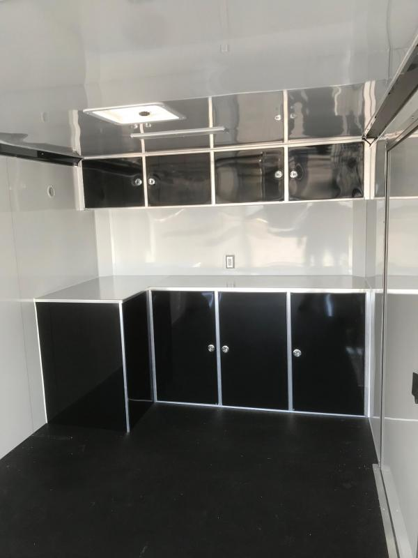 2018 Aluminum Trailer Company 8.5X28 RAVEN CAR HAULER PLUS 10K FINISHED INT Enclosed Cargo Trailer