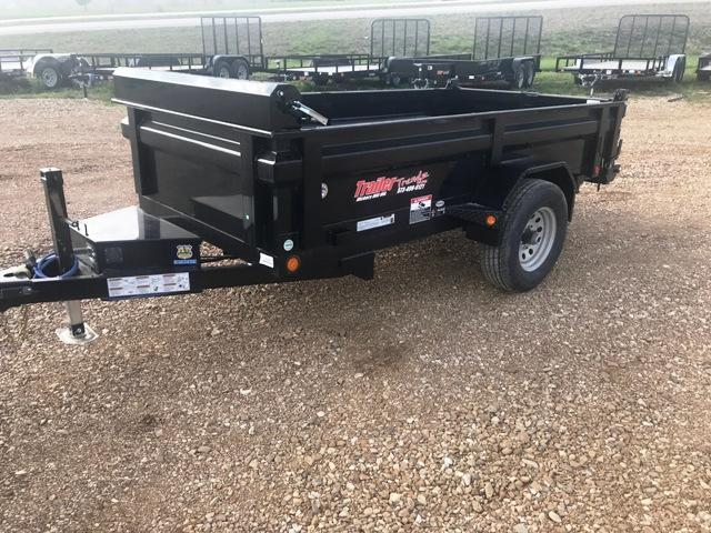2018 Load Trail 5X10 SINGLE AXLE Dump Trailer
