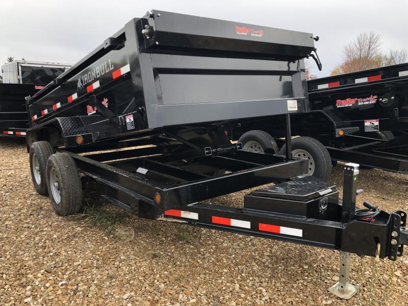 2019 Iron Bull 72X12 Dump Trailer
