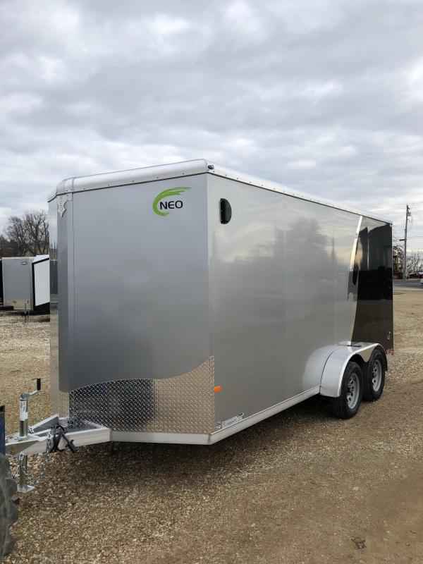 2019 NEO Trailers 7x16 R-Top Enclosed Cargo Trailer