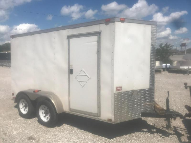 2014 Diamond Cargo 6x12 Enclosed Cargo Trailer