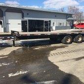 2019 Starlite Trailers 102X25 DECKOVER PINTLE Flatbed Trailer