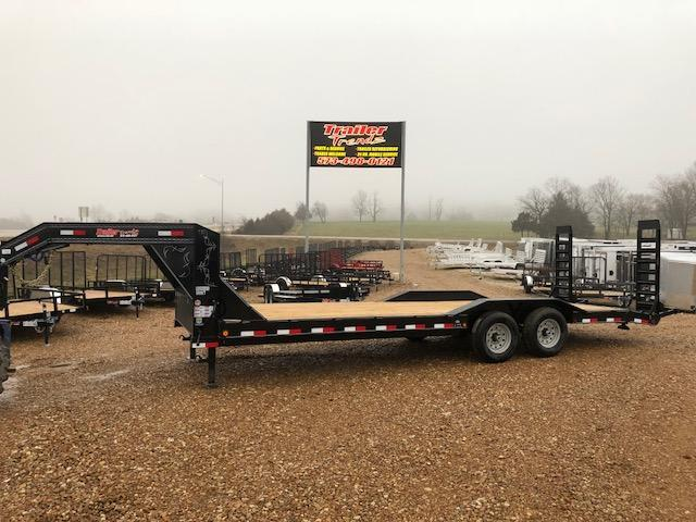 2018 Load Trail 102X24 GOOSNECK DRIVE OVER FENDERS 14K Equipment Trailer