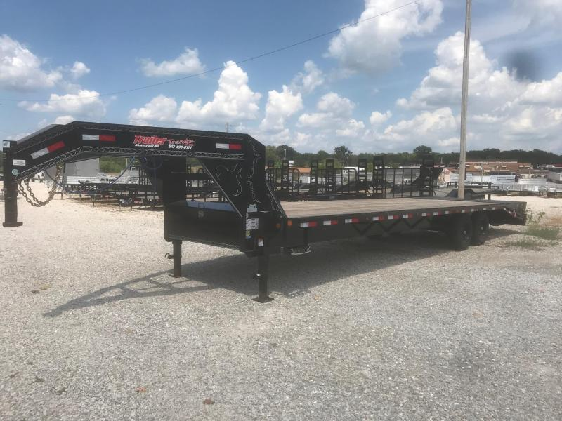 2018 Load Trail GH 102X30 Flatbed Trailer