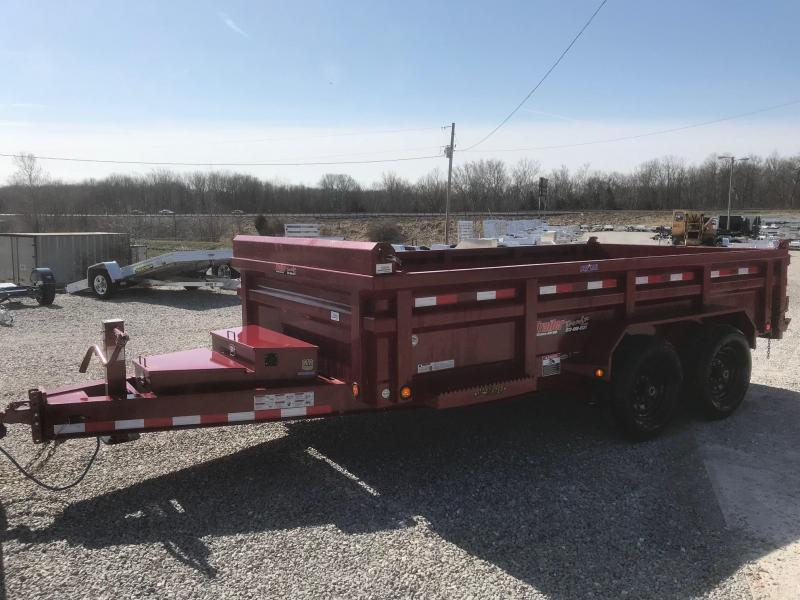 2018 Load Trail 83X14 DH 14K I BEAM FRAME HEAVY DUTY Dump Trailer