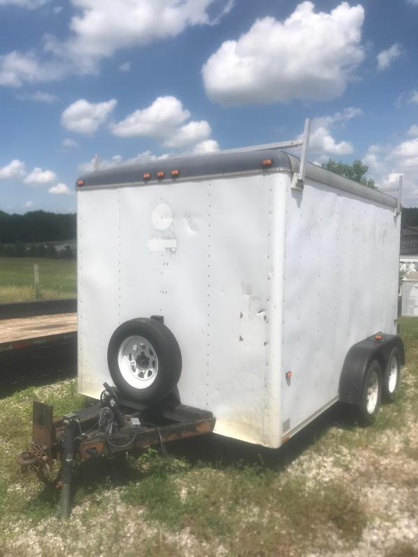 1995 Wells Cargo 7X12 Enclosed Cargo Trailer