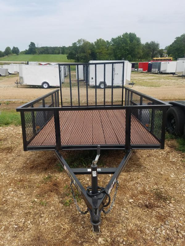 2017 Carry-On 2017 72X10 CARRY ON 2' MESH SIDES LIKE NEW Utility Trailer