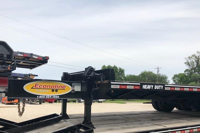 2018 Econoline DP2025DA Equipment Trailer