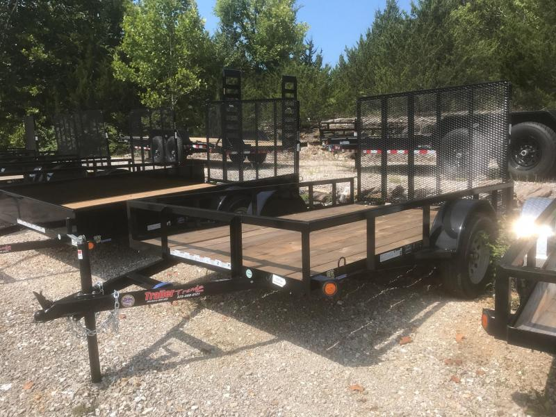 2018 Load Trail 6X10 SE SINGLE AXLE Utility Trailer