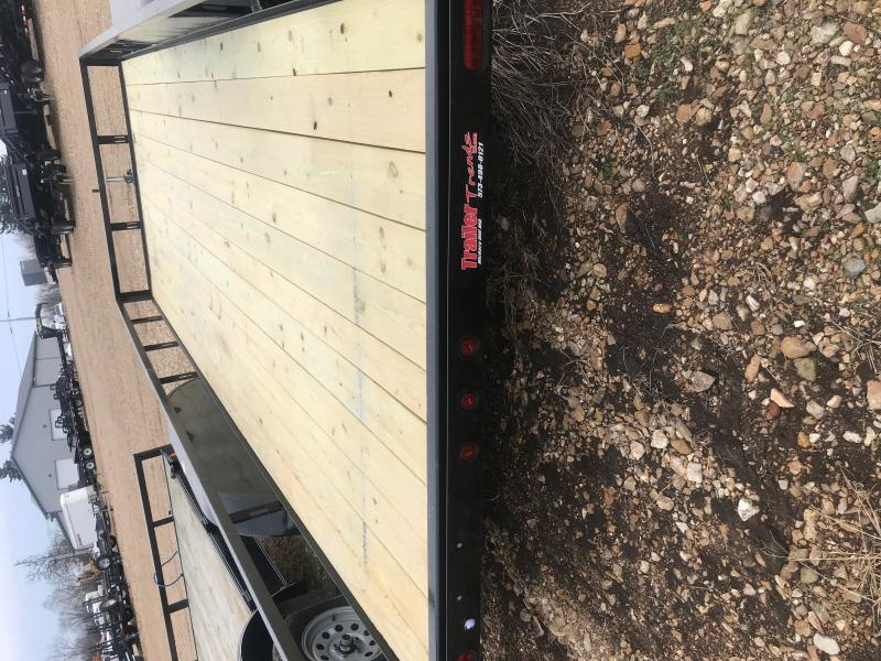 2019 Heartland 82x18 Utility Trailer- Extra Wide