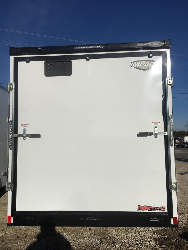 2019 Impact Trailers 7X16 Enclosed Cargo Trailer