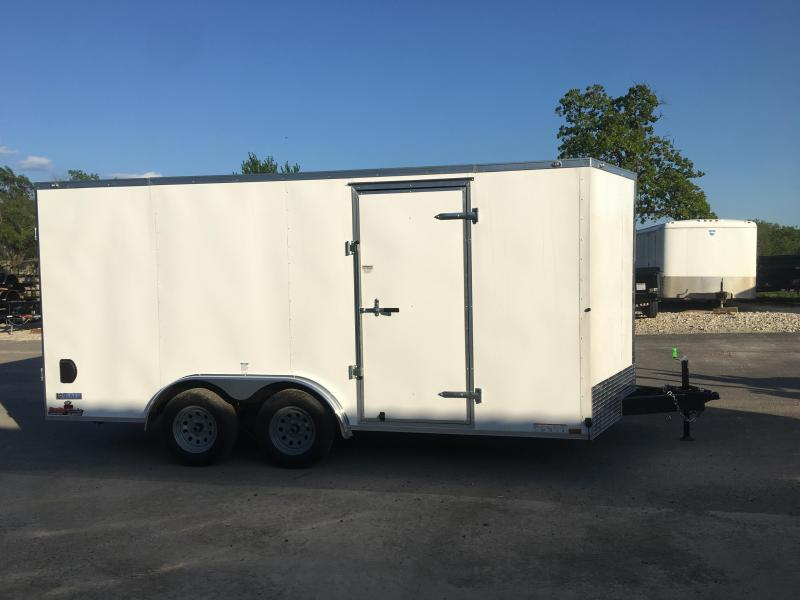 2020 Continental Cargo 8X16 Enclosed Cargo Trailer