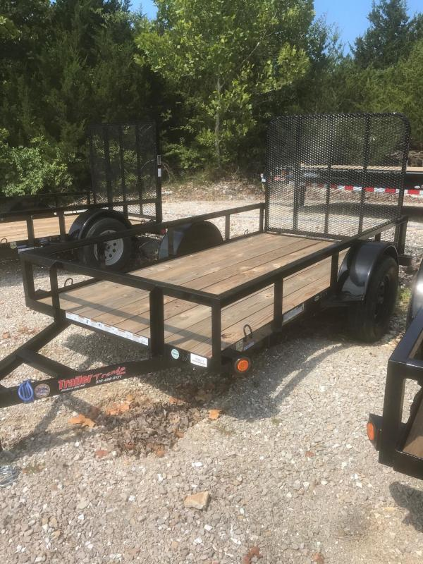 2018 Load Trail 5X10 SE SINGLE AXLE Utility Trailer