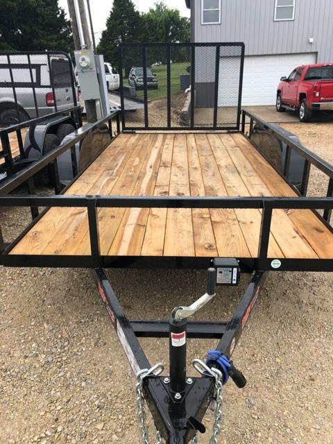 2019 Load Trail 77X14 UE Utility Trailer