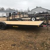 2019 Hull 82X24 Flatbed Trailer